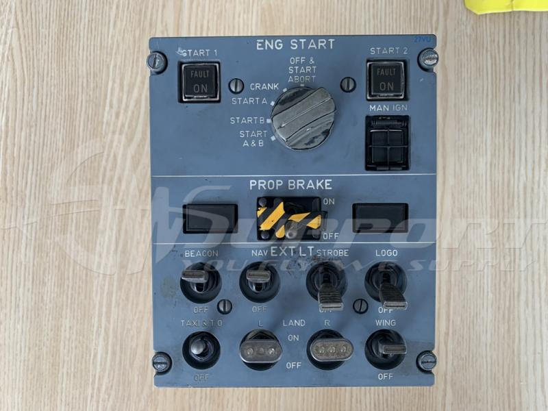 097-033-00  27VU ENGINE START S/W PANEL/ EXT LIGHT PANEL