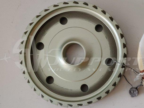 3018312  Turbine Engine 2nd Stage Compressor Disc